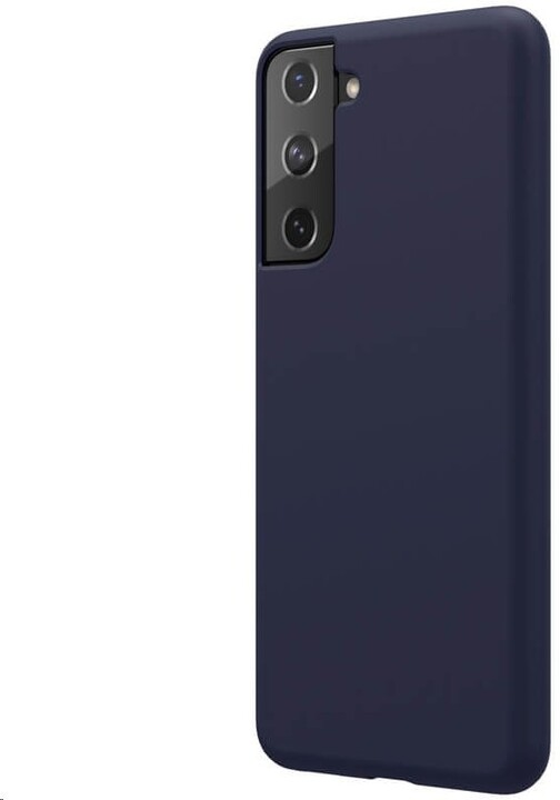 Nillkin silikonové pouzdro Flex Pure Liquid pro Samsung Galaxy S21, modrá