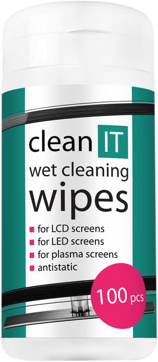 Clean IT mokré ubrousky na LCD/TFT obrazovky 100ks