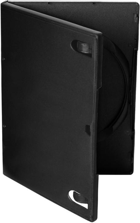 Cover It 1 DVD 14mm černý 10ks/bal