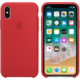 Apple silikonový kryt na iPhone X (PRODUCT)RED, červená