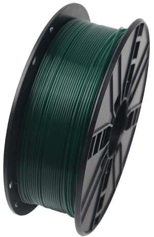 Gembird tisková struna (filament), PLA, 1,75mm, 1kg, vánoční zelená