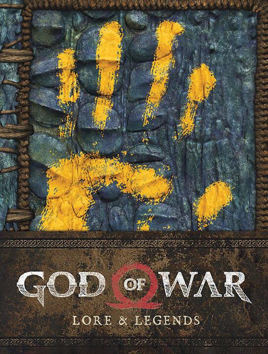 Kniha God of War: Lore and Legends