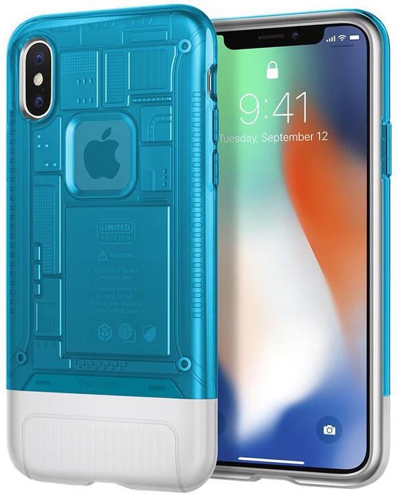 Spigen Classic C1 pro iPhone X, modrá