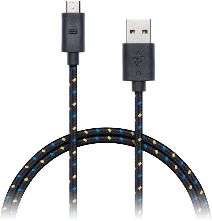 CONNECT IT Wirez Premium micro USB - USB, 1m