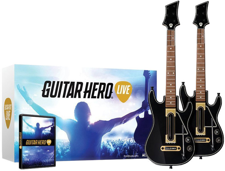 Guitar Hero Live: Supreme Party Edition + 2 kytary (PS4)