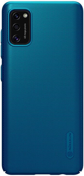 Nillkin zadní kryt Super Frosted pro Samsung Galaxy A41, paví modrá