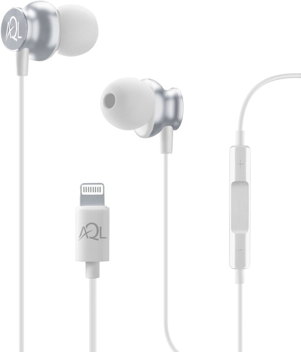 CellularLine In-ear Whirl, bílá