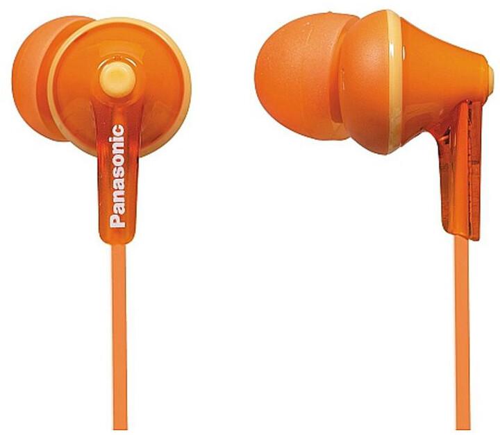 Panasonic RP-HJE125E-D, oranžová