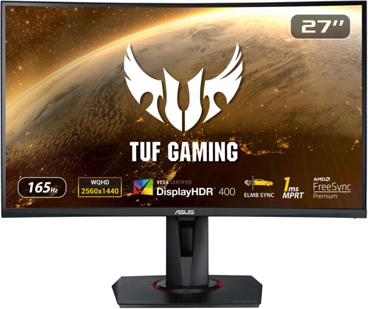"ASUS TUF Gaming VG27WQ - LED monitor 27"""