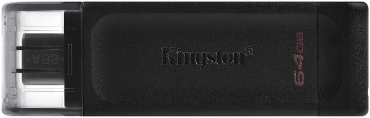 Kingston DataTraveler 70 - 64GB, černá