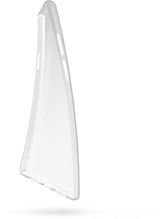EPICO gelový kryt RONNY GLOSS pro OnePlus 9, bílá transparentní
