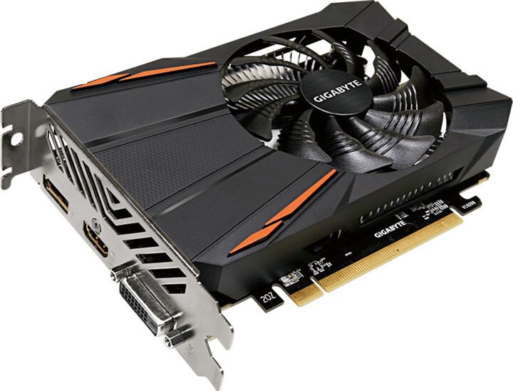 GIGABYTE Radeon RX550 D5 2G (rev.2.0), 2GB GDDR5
