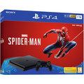 PlayStation 4 Slim, 1TB, černá + Spider-Man