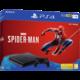PlayStation 4 Slim, 1TB, černá + Spider-Man  + 300 Kč na Mall.cz