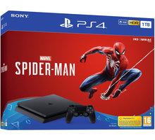 PlayStation 4 Slim, 1TB, černá + Spider-Man - PS719733218
