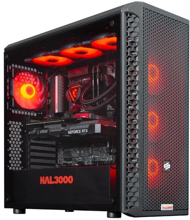 HAL3000 Master Gamer Elite-K 3070 (11.gen), černá
