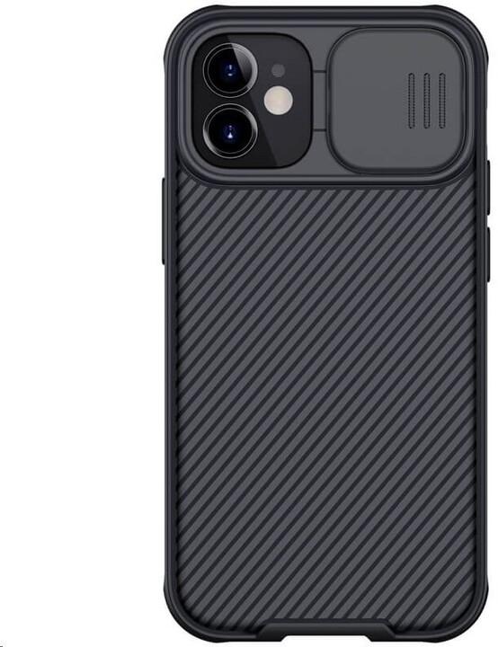 Nillkin zadní kryt CamShield Pro Magnetic pro Apple iPhone 12 mini, černá