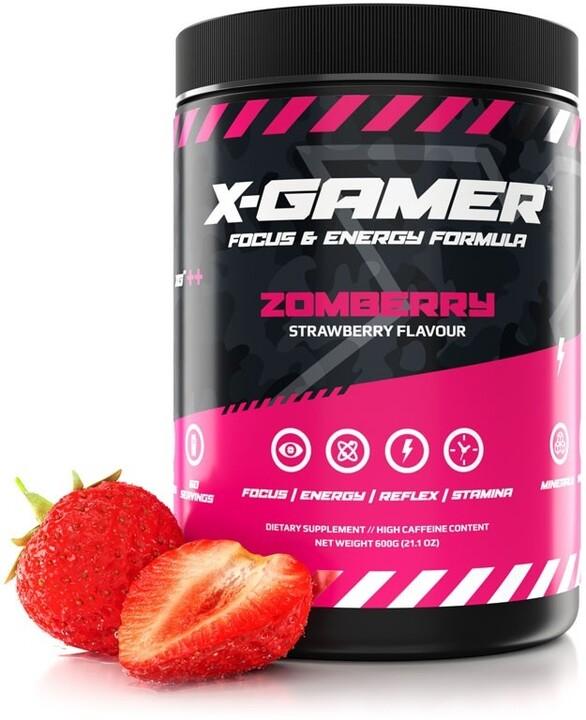 Doplněk stravy X-Gamer X-Tubz - Zomberry, 600g