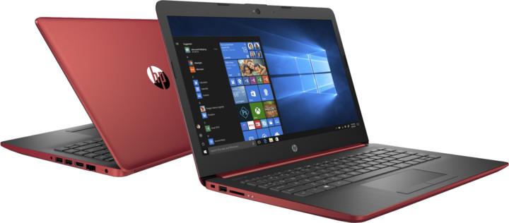 HP 14 (14-dg0003nc), červená