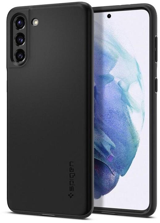 Spigen ochranný kryt Thin Fit pro Samsung Galaxy S21, černá