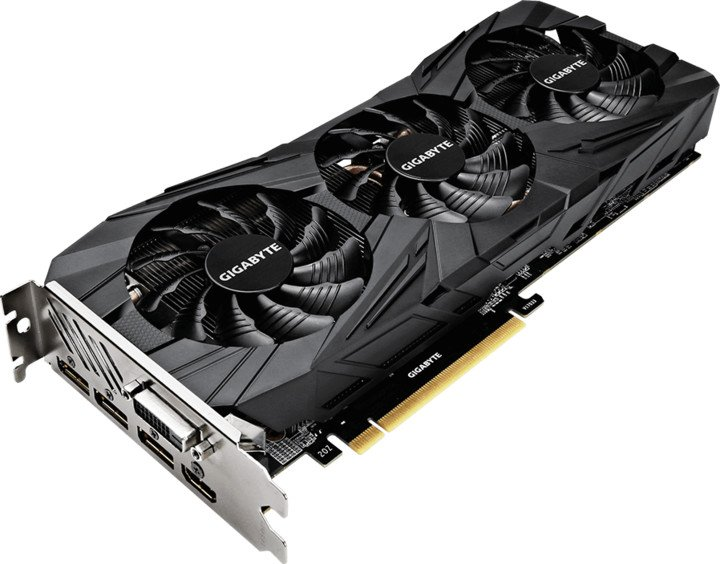 GIGABYTE GeForce GTX 1080 Ti Gaming OC BLACK 11G, 11GB GDDR5X