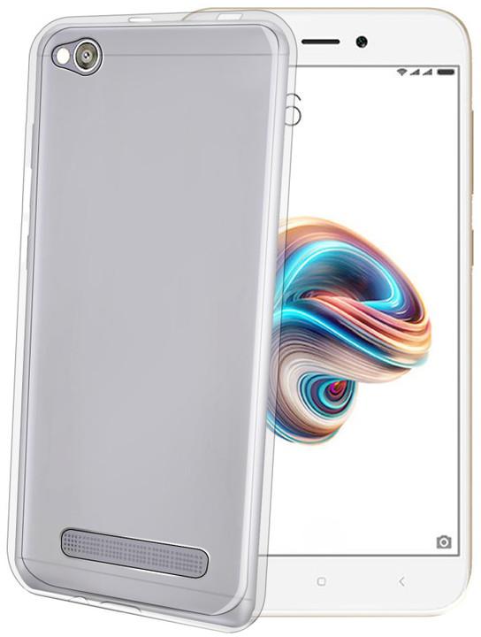 CELLY Gelskin TPU pouzdro pro Xiaomi Redmi 5A, bezbarvé