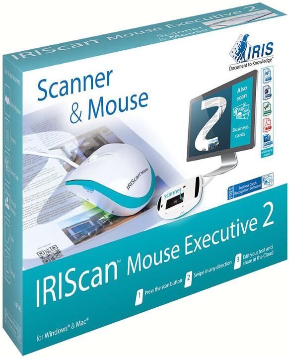IRIS skener IRISCan Mouse Executive 2 - myš s funkcí skeneru