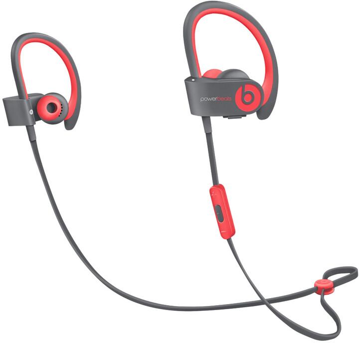 Beats Powerbeats 2, bezdrátová, červená, Active collection