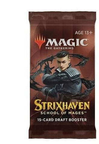 Karetní hra Magic: The Gathering Strixhaven School of Mage - Draft Booster (15 karet)