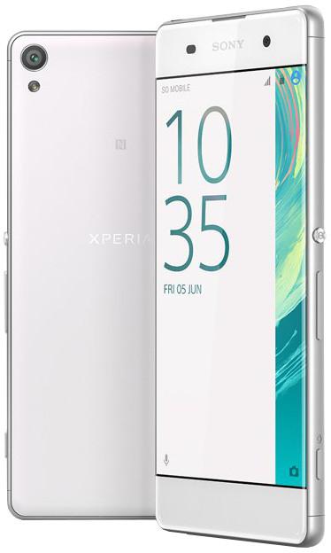 Sony Xperia XA, bílá