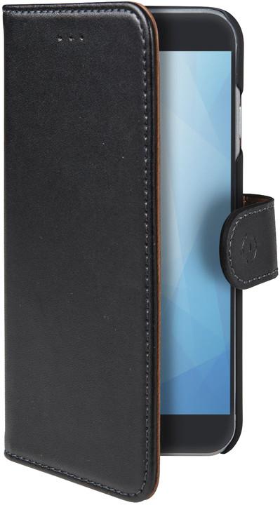 CELLY Wally pouzdro typu kniha pro Samsung Galaxy A6+ (2018), černé