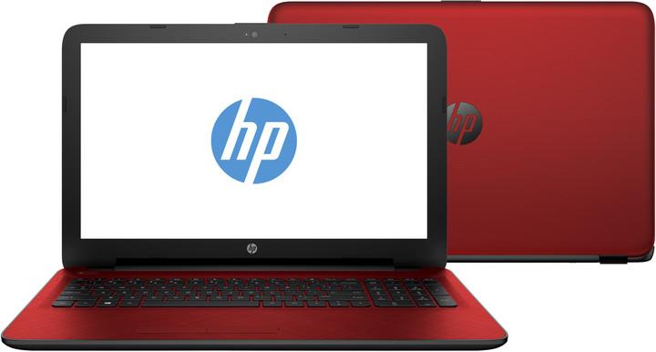 HP 15 (15-af111nc), červená