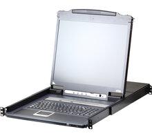 """ATEN CL5716I - 16-portový KVM switch (PS/2 i USB) přes IP, VGA, 17"""" LCD, UK klávesnice - CL5716IM-ATA-2XK06UG"""