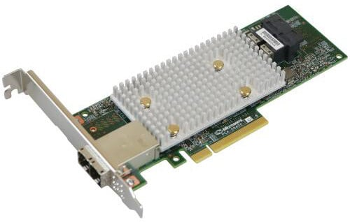 Microsemi Adaptec řadič SmartHBA 2100-8i8e Single, 12Gbps SAS/SATA, 8 portů int., 8 portů ext