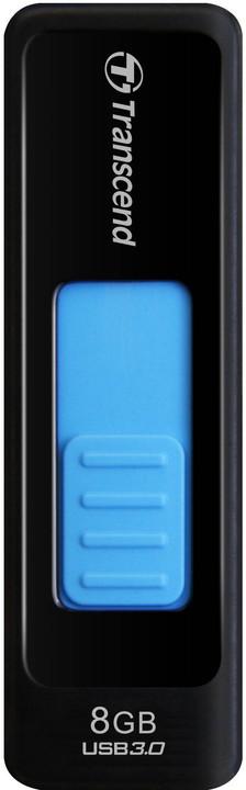Transcend JetFlash 760 8GB, černo-modrý