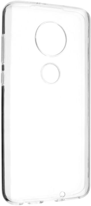 FIXED ultratenké TPU gelové pouzdro Skin pro Motorola Moto G7, 0,6 mm, čiré