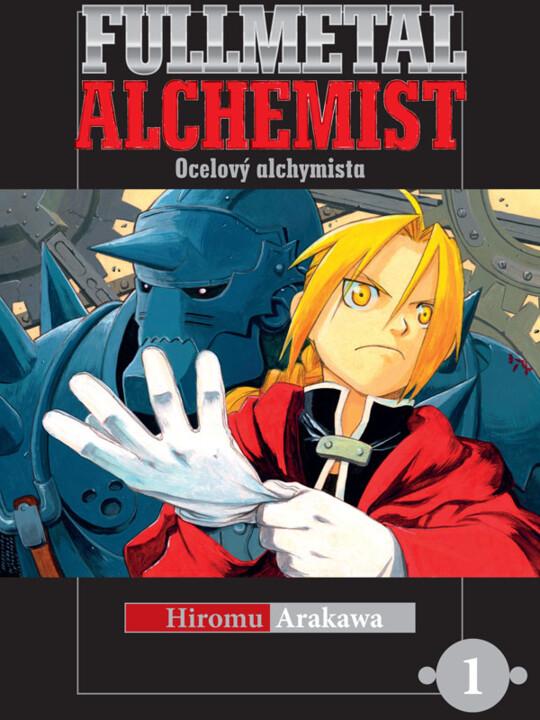 Komiks Fullmetal Alchemist - Ocelový alchymista 01