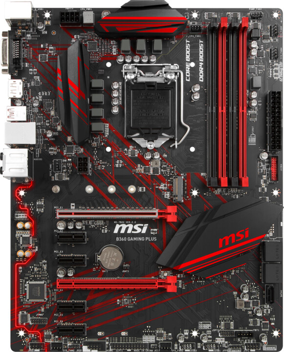MSI B360 GAMING PLUS - Intel B360