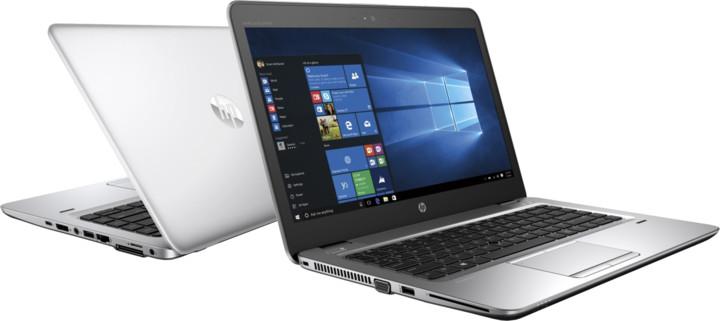 HP EliteBook 840 G4, stříbrná