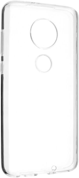 FIXED TPU gelové pouzdro pro Motorola Moto G7, čiré