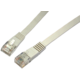 Solarix Patch kabel plochý CAT6 UTP LSOH 5m šedý non-snag-proof
