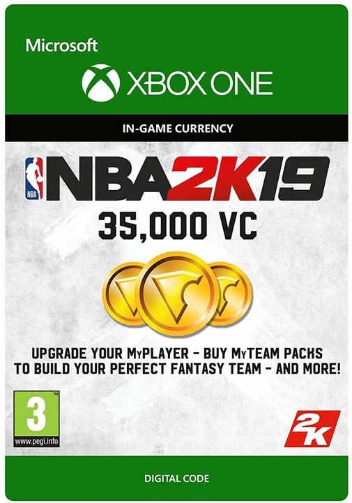 NBA 2K19 - 35000 VC (Xbox ONE) - elektronicky