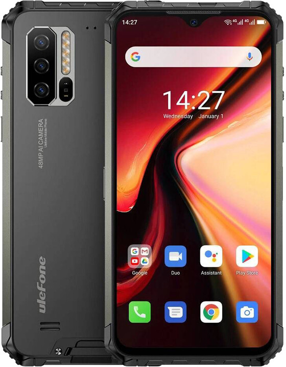 UleFone Armor 7 2020, 8GB/128GB, Black