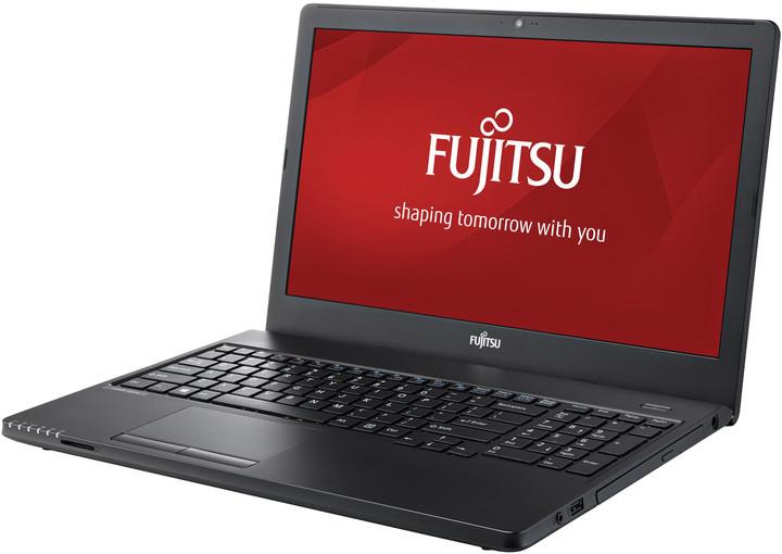 Fujitsu Lifebook A357, černá