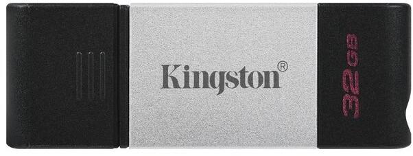 Kingston DataTraveler 80 - 32GB, černá/stříbrná