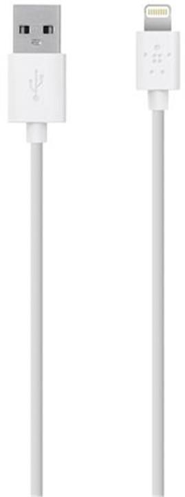 Belkin Synchronizační Lightning kabel 15cm, bílá