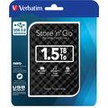 Verbatim Store'n'Go, USB 3.0 - 1,5TB, černá