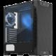 SilentiumPC Armis AR3 TG-RGB Pure, okno, černá  + Voucher až na 3 měsíce HBO GO jako dárek (max 1 ks na objednávku)