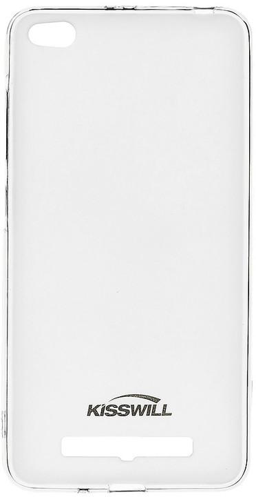 Kisswill TPU pouzdro pro Xiaomi Redmi 4A, transparentní