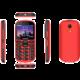 Aligator A880, červená + nabíjecí stojánek